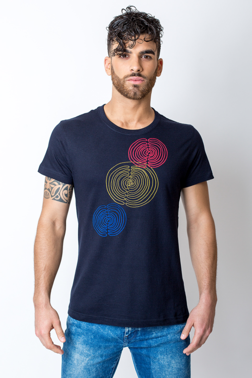Three spirals t-shirt