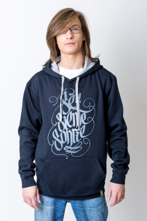 Hoodie Let be, feel and smile