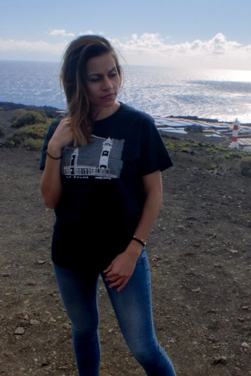 modelo y camiseta