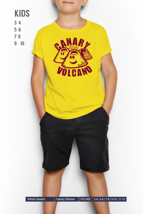 Canary Volcano boy
